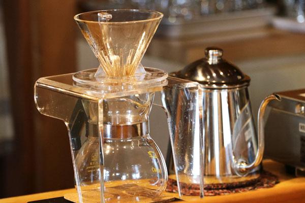 こだわりの自家焙煎コーヒー